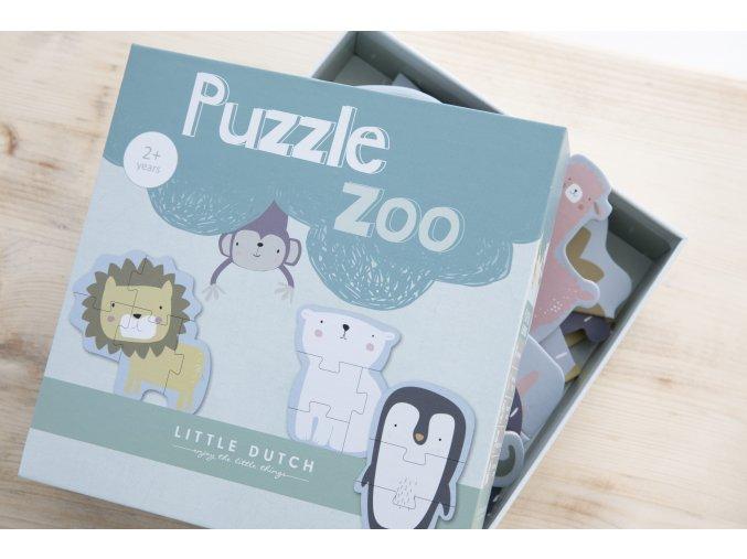 4443 Animal puzzle Zoo 19 min
