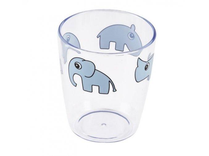 sklenička modrá