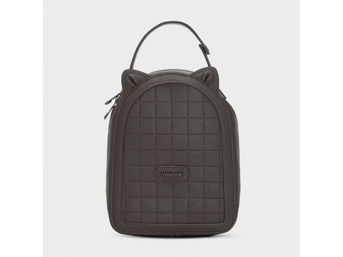 Termo svačinový batoh s oušky tmavě šedý Mayoral