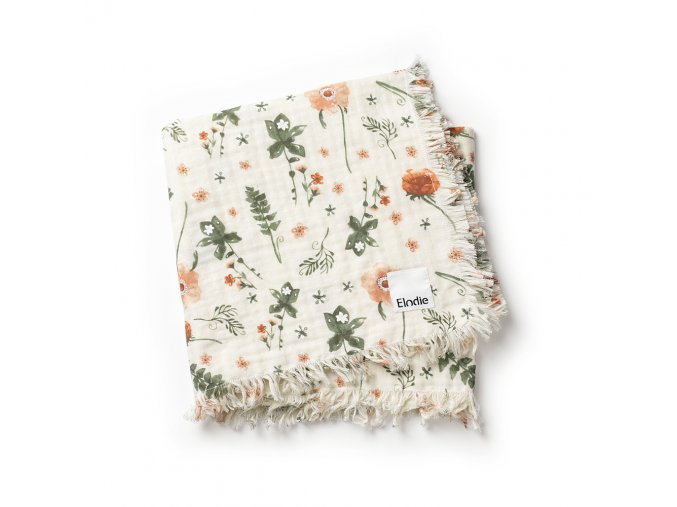 soft cotton blanket meadow blossom elodie details 70360115588NA 1