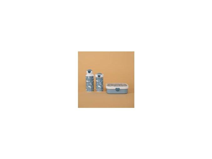 0013528 little dutch drinkfles pop up 400 ml ocean blue ocean 1 180