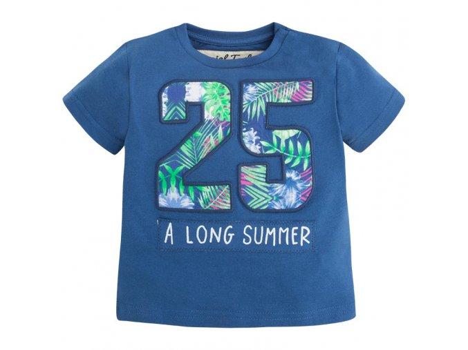 Tričko krátký rukáv 25 tmavě modrá BABY Mayoral