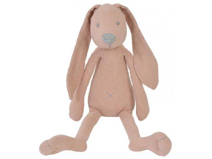 Králíček Richie lněný růžový 45 cm Happy Horse