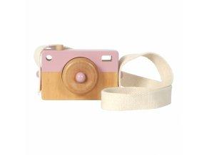 dreveny fotoaparat little dutch ruzovy 1 miniland 500x500