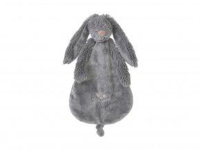 Přítulka králíček Richie tmavě šedá 25 cm Happy Horse
