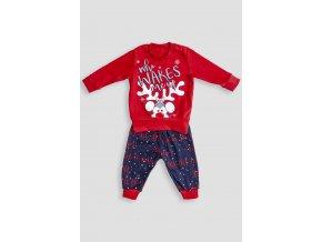 Pyžamo se sobíkem červeno-modré baby Extreme Intimo