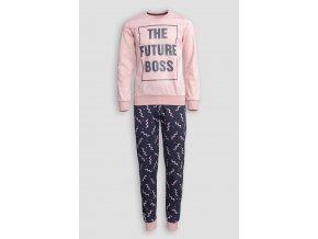 Pyžamo FUTURE BOSS růžové Extreme Intimo