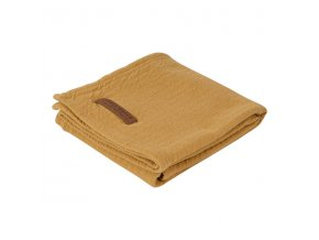 tetradoek xl swaddle pure ochre little dutch 600x600
