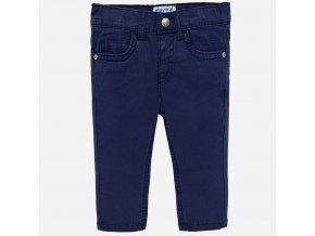 Kalhoty plátěné tmavě modré BABY Mayoral