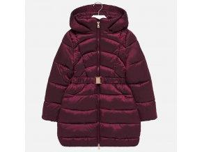 Kabát zimní prošívaný vínový JUNIOR Mayoral