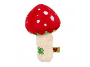 Chrastítko houbička pro štěstí DIE SPIEGELBURG