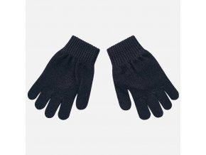 Rukavice prstové tmavě modré MINI Mayoral