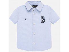 Košile s krátkým rukávem B světle modrá BABY Mayoral