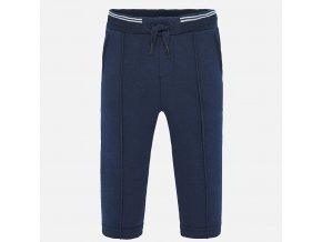 Kalhoty teplákové tmavě modré BABY Mayoral