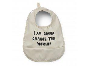 baby bib change the world elodie details 30400151715NA 1000px