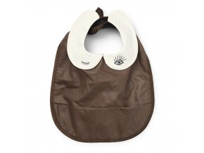 baby bib chocolate elodie details 30400149141NA 1000px