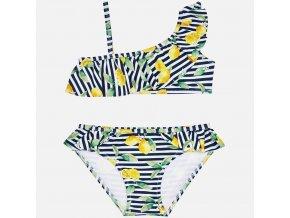 Plavky dvojdílné s citrónky MINI Mayoral