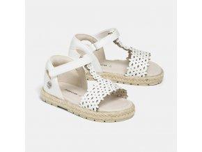 Sandálky bílé BABY Mayoral