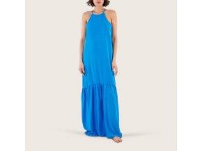Šaty dámské dlouhé modré Extreme Intimo