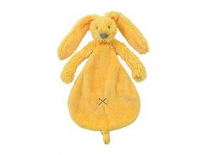 Přítulka králíček Richie žlutý 25 cm Happy Horse