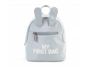kinderrucksack my first bag grau