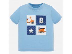 Tričko s krátkým rukávem Vespa světle modré BABY Mayoral