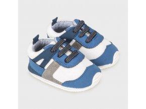 Tenisky kojenecké modré NEWBORN Mayoral