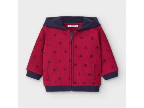 Mikina s kapucí MYRL červená BABY Mayoral