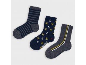 3 pack ponožek MYRL modro-zelené MINI Mayoral