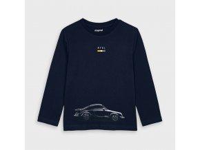 Triko s dlouhým rukávem auto tmavě modré MINI Mayoral