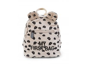 childhome kids my first bag leopard 20x8x24 cm small backpacks 86809 zoom