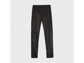 Kalhoty semišové s prošitím černé JUNIOR Mayoral