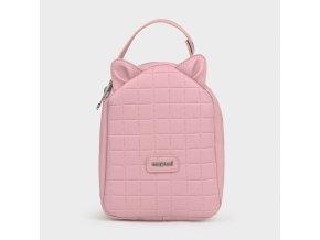 Termo svačinový batoh s oušky růžový Mayoral