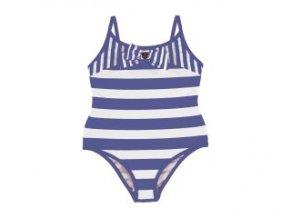 Plavky jednodílné pruhy modrá MINI Mayoral