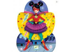 Puzzle Superhrdinka Djeco
