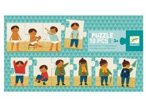 puzzle oblékání