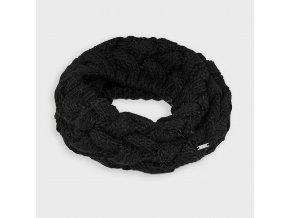 Nákrčník pletený vzor černý MINI Mayoral