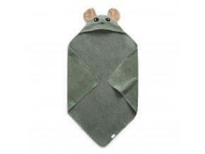 hooded towel hazy jade max elodie details 70660133653NA