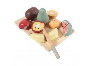 0010377 houten snijset fruit 1000