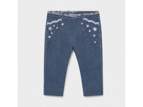 Legíny s tiskem džínů středně modré BABY Mayoral