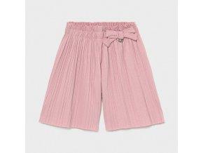 Kalhoty culotte skládané světle růžové BABY Mayoral