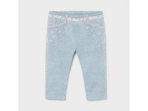 Legíny s tiskem džínů světle modré BABY Mayoral