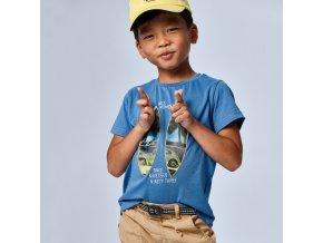 Tričko s krátkým rukávem MOMENTS modré MINI Mayoral