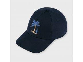 Kšiltovka s palmou tmavě modrá MINI Mayoral