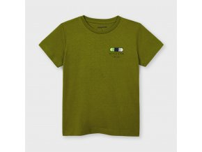 Tričko s krátkým rukávem khaki MINI Mayoral