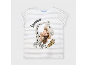 Tričko s krátkým rukávem Jambo zlaté MINI Mayoral
