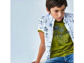t shirt manche courte coton ecofriends garcon id 21 06082 069 800 2