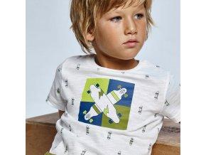 t shirt ecofriends manche courte imprime garcon id 21 03041 060 800 2