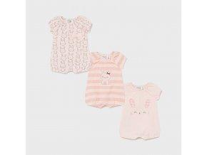 set 3 pijamas punto recien nacida nina id 21 01617 092 800 4