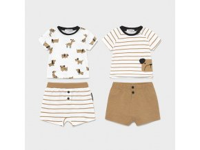 knit striped set 4 pieces for newborn boy id 21 01646 035 800 4